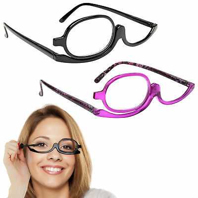 Reading Glasses Company Make-Up Glasses Magnifying Flip Lens Womens Ladies R52