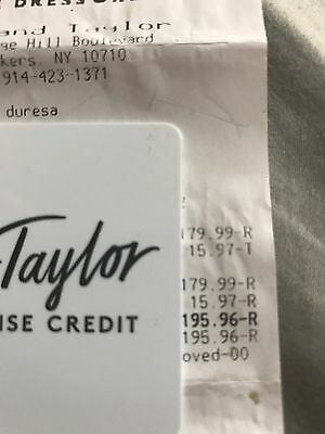 Lord & Taylor Gift Card Merchandise Credit $195.96
