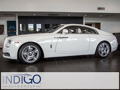 2017 Rolls-Royce Other Base Coupe 2-Door 2017 Rolls-Royce Wraith   30 Miles English White 2D Coupe 6.6L V12 DGI DOHC 48V