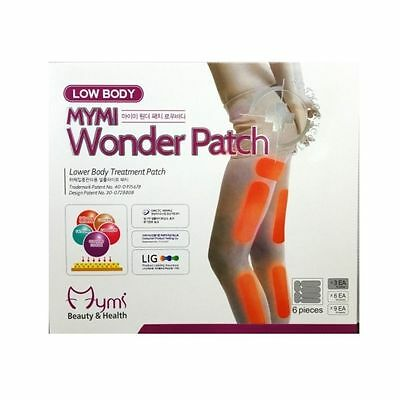 9 x 6 Stück Mymi Low Body Wonder Patch - Abnehmpflaster - Cellulite-Reduz.