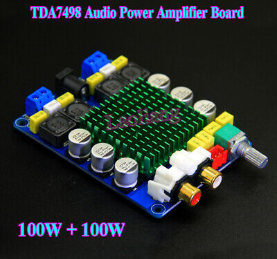 TDA7498 Class D Stereo 2.0 HIFI Digital Audio Power Amplifier Module 100W+100W