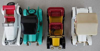 1960s MOY Matchbox Lesney Models of Yesteryear 4x Modelle