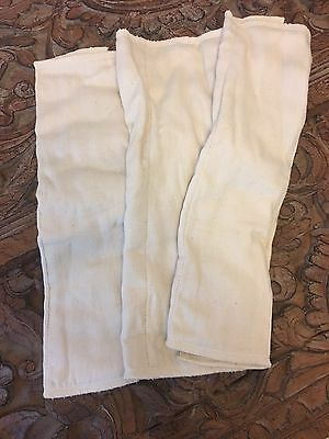 3 Bamboo Prefold Cloth Diapers Never Used