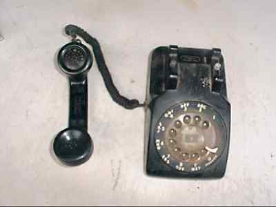1964 Vintage Bell Systems by Western Electric Model 500 Rotary Telephone Black