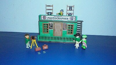 Playmobil westernstadt westernhaus fotograf custom top for Graf custom homes