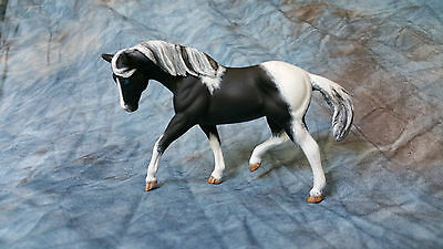 Breyer CM SM G2 Appaloosa mold QH stablemate blue eyes tobiano pinto model horse