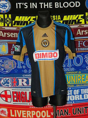 5/5 Philadelphia Union adults L MINT 2011 football shirt jersey trikot soccer