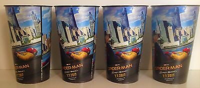 Spider-Man: Homecoming  Movie Theater Exclusive Four 44 oz Plastic Cups