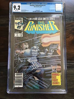 The Punisher Limited Series #1 - CGC Graded: 9.2 - Jigsaw Appearance (1986)
