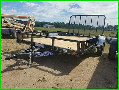 2017 Load Trail 14' Single Axle Utility New