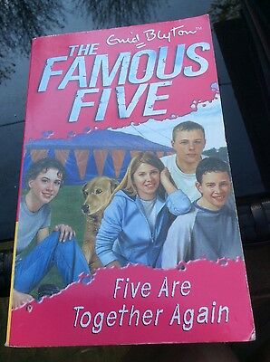 The Famous Five - Five are Together Again by Enid Blyton
