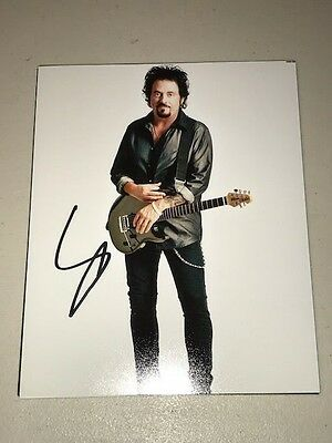Steve Lukather TOTO Signed Autographed 8x10 Photo