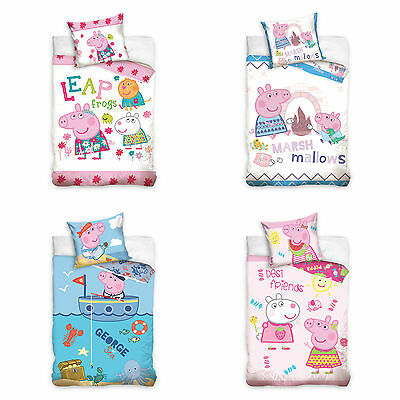 Peppa Pig children bed linen baby bed linen Peppa 100 x 135 cm