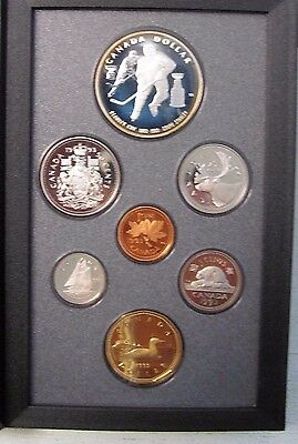 1993 Double Dollar PROOF set--STANLEY CUP-Silver Dollar  -ITEM #4812