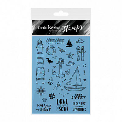 AHOY MATEY - For The Love of Stamps Clear Stamp Set - Hunkydory