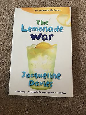 The Lemonade War: The Lemonade War 1 by Jacqueline Davies (2009, Paperback)
