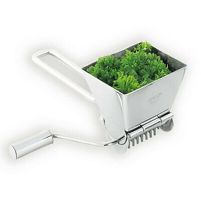 Avanti Lifestyle Rotary Herb Mill Stainless Steel Cutter/Grinder/Crusher/Chopper
