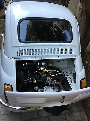 1972 Fiat 500  1972 FIAT 500, located in Southern France near St. Tropez, no bondo, solid body