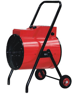 Industrial Electric Heater Portable 15kw - 415V 32amp