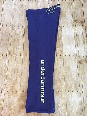 Under Armour Girls Size S Pants Cold Gear Purple Activewear Jogging Storm 1