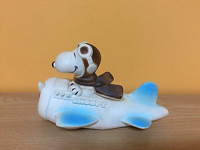 Vintage 1966 Snoopy Airplane Squeeze/Squeak Toy