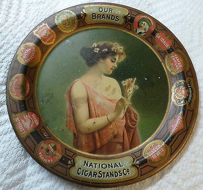 """""""Our Brands"""" Advertising Cigar Tray"""