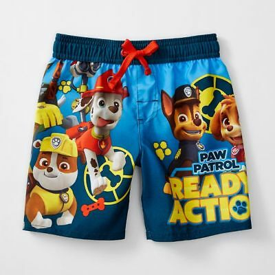 NEW Paw Patrol 'Ready For Action!' Boardshorts Kids