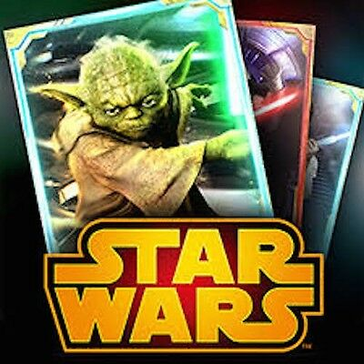 Star Wars Force Collection | 11,000 Crystal Accounts | Draw Cards at a discount!