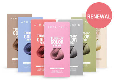 April Skin Turn-up Color Cream 60g, Hair Care Color Dyeing Korea Cosmetic