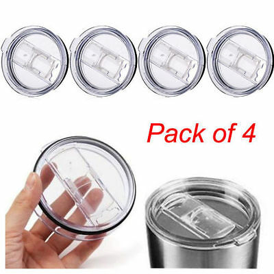 4pack Spill Proof Replacement Lid For YETI Rambler Ozark 20 Oz Tumbler Cup