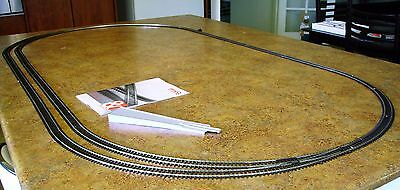 PIKO HO - LARGE TRACK OVAL WITH PASSING SIDING - code 100 track for your railway