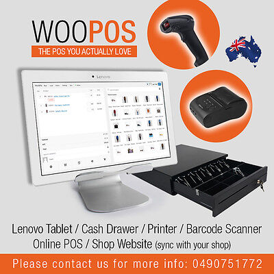 Touch screen Point of sales system - Multiple Registers + Complete Website