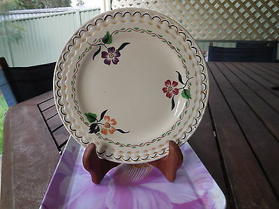 Vintage Adams 'titian Ware' Ivory Hand-Painted Side Plate, 17 Cm