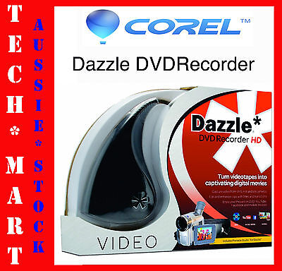 Corel◉Pinnacle Dazzle DVD Recorder HD◉USB Video Capture◉DVC R2◉Studio HD v.14◉Oz