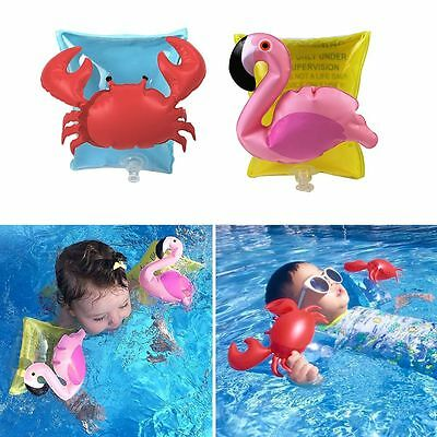Baby Safety Sleeves Water Toys Kids Inflatable Swimming Pool Float Ring Arm Band