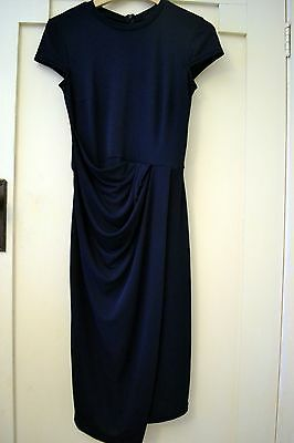 Asos navy formal maternity dress size 6