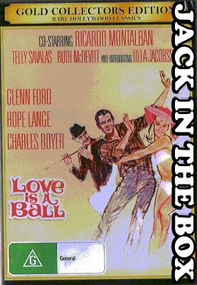 Love Is A Ball DVD NEW, FREE POSTAGE WITHIN AUSTRALIA REGION ALL