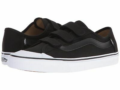 Vans Shoes Black Ball Priz B Skate Skateboard Vn-0Xszblk Shoe Velcro Skate New