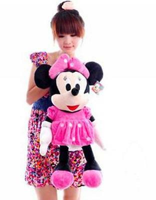 72CM LARGE SIZE CUTE DISNEY MINNIE MOUSE PLUSH DOLL KIDS BABY SOFT TOY Hot Gift