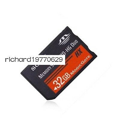32 GB 32G MS Memory Stick PRO DUO HG HX 50MBS HD Video for sony PSP