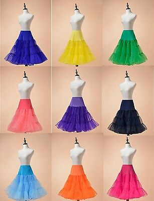 Retro Underskirt 50s Swing Vintage Petticoat Skirt Rockabilly Tutu Fancy Slips