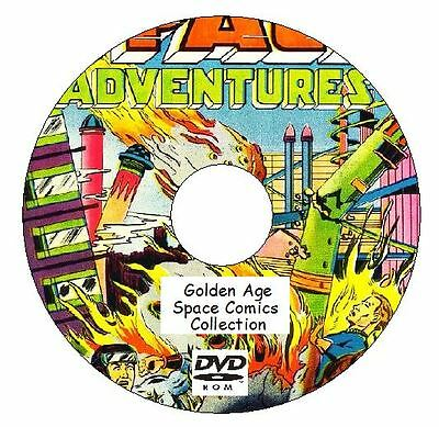 Space Comics, Space Busters, Strange Worlds + more 134 Golden Age Comics on DVD