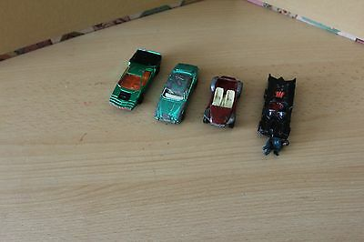 Corgi Toy Collection - Batman - Beach Buggy - Jaguar Xj6 & Carabo