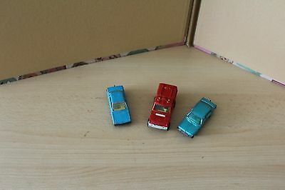 Majorett Car Collection - 246 Range Rover + 208 Chrysler 180 + 210 Vw K70