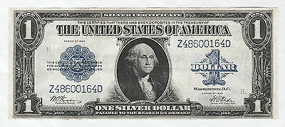 Circulated 1923 Silver Certificate--$1 large size note #229, Fr. 239, Woods/Tate