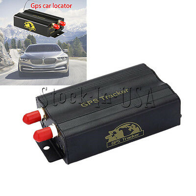 GPRS GSM SMS Vehicle Car TK103A Tracker Real Time Tracking Device Syatem