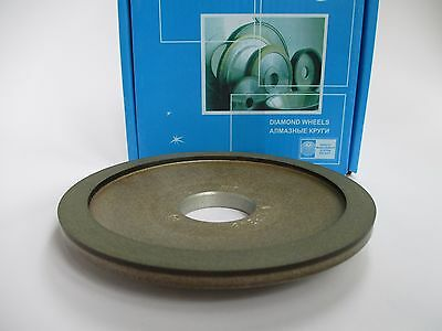 125mm. Hole 32mm. Type 12A2-20 Dish Diamond Grinding Wheel (Various Grit)