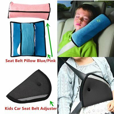 New Pro Children Car Safety Seat Belt Pillow Strap Soft Shoulder Pad Headrest SV
