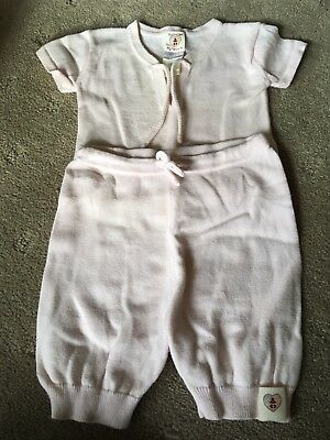 Nurtured by Nature Girls Top And Pants Set Size 3-6 Months