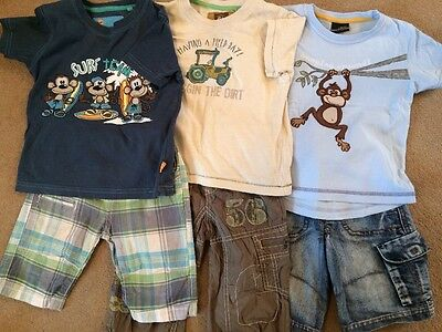 Baby / Toddler Boys Summer Bundle 18-24 Months (1 1/2 - 2 Years) Mostly Next.